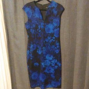 Pretty in blue dress